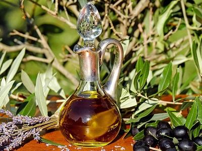 Ölkaraffe Glas, Karaffe Öl