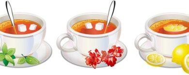Natürliche Süßungsmittel, Zucker Alternativen, Teetasse, Tee, Natürlich süß