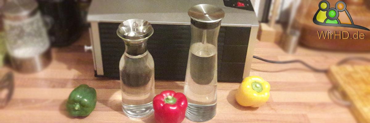 Eva Solo und Bohemia Christal 1l Karaffen Vergleich, Test, Wasserkaraffen, Glaskaraffen, Karaffe aus Glas