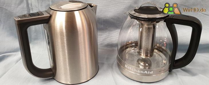 Teekocher aus Glas, Wasserkocher, 1,7 Liter.