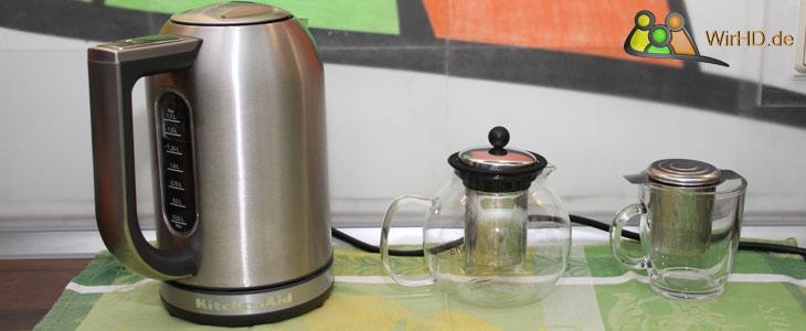 Wasserkocher mit Temperatureinstellung M