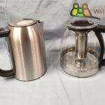 Kitchenaid Wasserkocher und Teekocher aus Glas