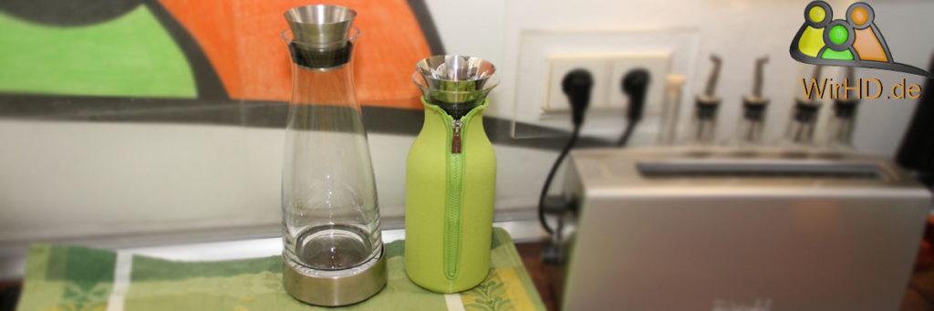 Kühlung einer Wasserkaraffe.