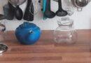 Teekannen, Glas, Porzellan, Stövchen, Sieb, Steinzeug.