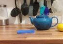 Teekannen Reinigung, Silikonschwam.