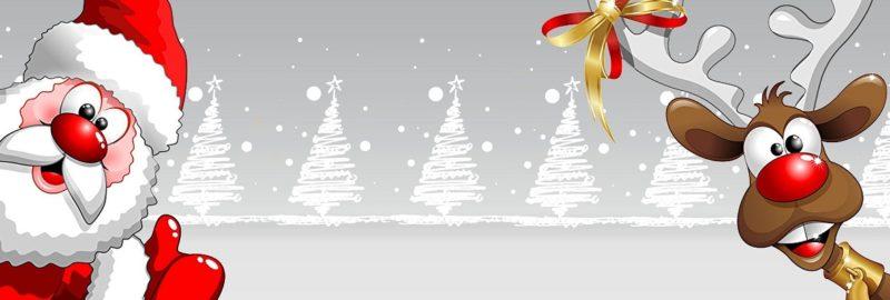 Corona-Weihnachts-Maske