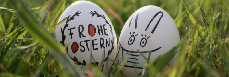 Einweg- oder Mehrweg-Mundschutz zu Ostern?