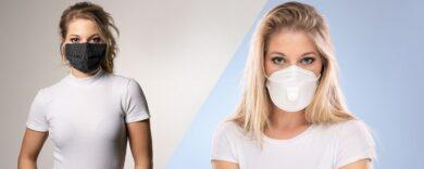 Mundschutz für Frauen, Mund-Nasen-Masken online kaufen, Edle Mundschutz-Masken, modische Behelfsmasken, stylishe Alltagsmasken für Damen, Masken finden, Mund-Nasen-Bedeckung bestellen