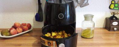 Fritteuse ohne Öl, Heißluftfritteuse.